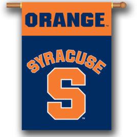 Syracuse Orange | 2-Sided 28″ X 40″ Banner W/ Pole Sleeve