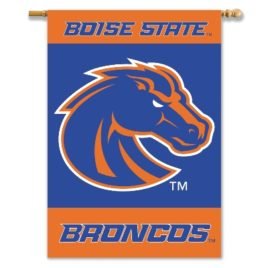 Boise State Broncos | 2-Sided 28″ X 40″ Banner W/ Pole Sleeve