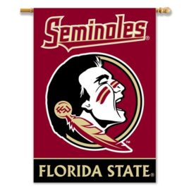 Florida State Seminoles   2-Sided 28″ X 40″ Banner W/ Pole Sleeve