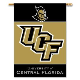 Central Florida Golden Knights* | 2-Sided 28″ X 40″ Banner W/ Pole Sleeve