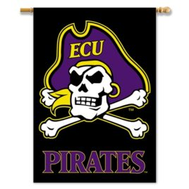 East Carolina Pirates | 2-Sided 28″ X 40″ Banner W/ Pole Sleeve