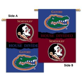 Florida – Florida St. | 2-Sided 28″ X 40″ Banner W/ Pole Sleeve House Divided