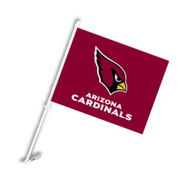 Arizona Cardinals | Car Flag W/Wall Brackett