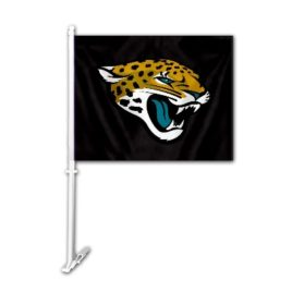 Jacksonville Jaguars | Car Flag W/Wall Brackett