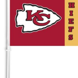 Kansas City Chiefs | Car Flag W/Wall Brackett