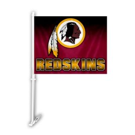Washington Redskins | Car Flag W/Wall Brackett