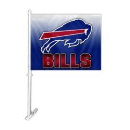 Buffalo Bills | Car Flag W/Wall Brackett