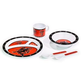Texas Tech Red Raiders | Kid's 5 Pc. Dish Set