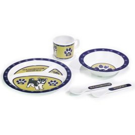 Washington Huskies | Kid's 5 Pc. Dish Set