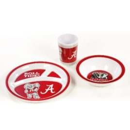 Alabama Crimson Tide | Kid's 3 Pc. Dish Set