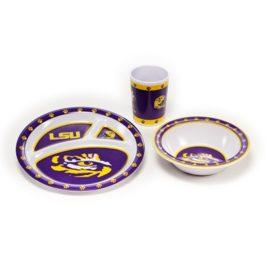 LSU Tigers | Kid's 3 Pc. Dish Set