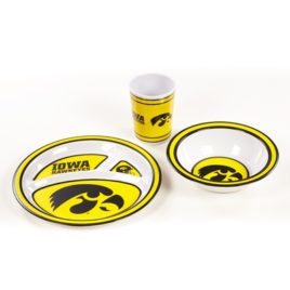 Iowa Hawkeyes | Kid's 3 Pc. Dish Set