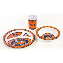 Auburn Tigers | Kid's 3 Pc. Dish Set