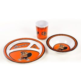 Oregon State Beavers | Kid's 3 Pc. Dish Set