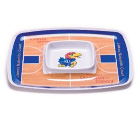 Kansas Jayhawks | Chip & Dip Tray