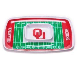 Oklahoma Sooners | Chip & Dip Tray