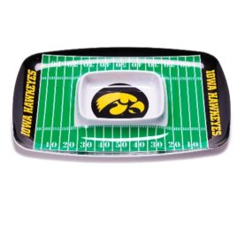Iowa Hawkeyes | Chip & Dip Tray