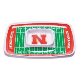 Nebraska Cornhuskers | Chip & Dip Tray
