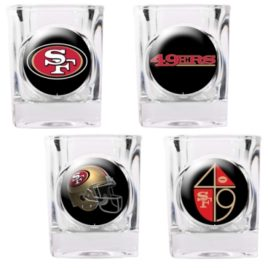 San Francisco 49Ers | 4pc Collector's Shot Glass Set