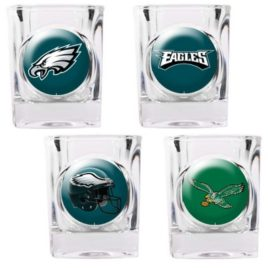 Philadelphia Eagles | 4pc Collector's Shot Glass Set