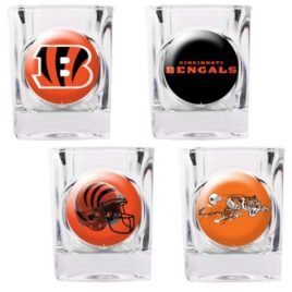 Cincinnati Bengals | 4pc Collector's Shot Glass Set