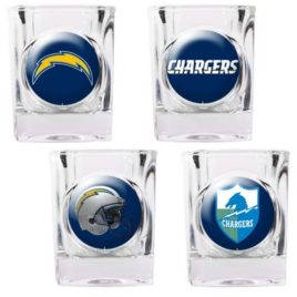 San Diego Chargers | 4pc Collector's Shot Glass Set