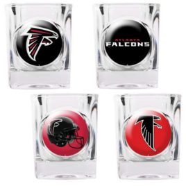 Atlanta Falcons | 4pc Collector's Shot Glass Set