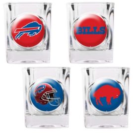 Buffalo Bills | 4pc Collector's Shot Glass Set