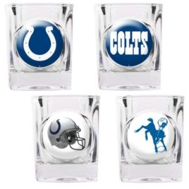 Indianapolis Colts | 4pc Collector's Shot Glass Set