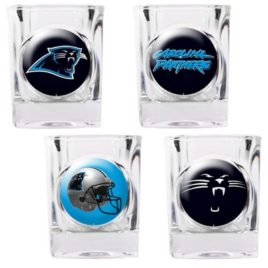 Carolina Panthers | 4pc Collector's Shot Glass Set