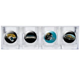 Jacksonville Jaguars | 4pc Collector's Shot Glass Set
