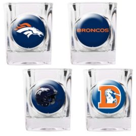 Denver Broncos | 4pc Collector's Shot Glass Set