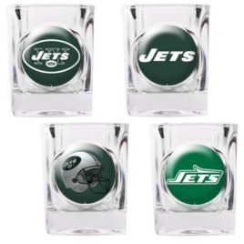 New York Jets | 4pc Collector's Shot Glass Set