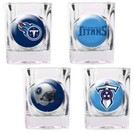 Tennessee Titans | 4pc Collector's Shot Glass Set