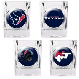 Houston Texans | 4pc Collector's Shot Glass Set