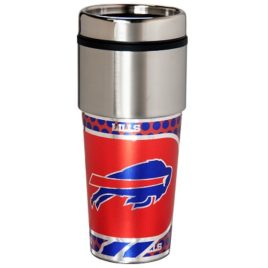 Buffalo Bills | Stainless Steel Travel Tumbler Metallic Graphics 16 Oz.