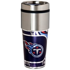 Tennessee Titans | Stainless Steel Travel Tumbler Metallic Graphics 16 Oz.