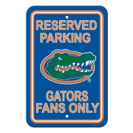 Florida Gators | 12″ X 18″ Plastic Parking Sign