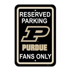 Purdue Boilermakers | 12″ X 18″ Plastic Parking Sign