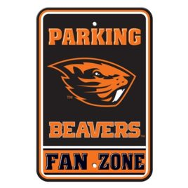 Oregon State Beavers | 12″ X 18″ Plastic Parking Sign