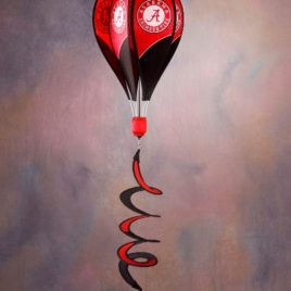 Alabama Crimson Tide | Hot Air Balloon Spinner