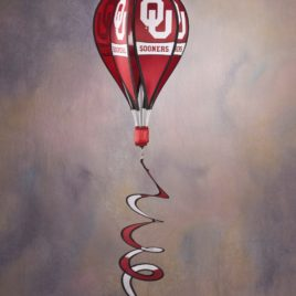 Oklahoma Sooners | Hot Air Balloon Spinner