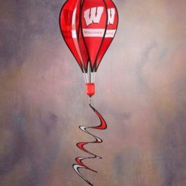 Wisconsin Badgers | Hot Air Balloon Spinner