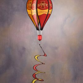 Iowa State Cyclones | Hot Air Balloon Spinner