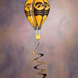 Iowa Hawkeyes | Hot Air Balloon Spinner