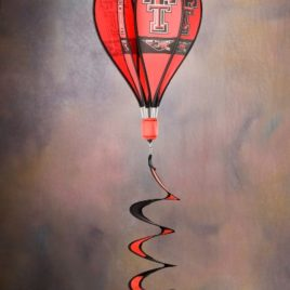 Texas Tech Red Raiders | Hot Air Balloon Spinner
