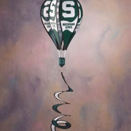 Michigan State Spartans | Hot Air Balloon Spinner