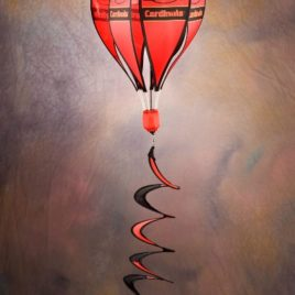 Louisville Cardinals | Hot Air Balloon Spinner