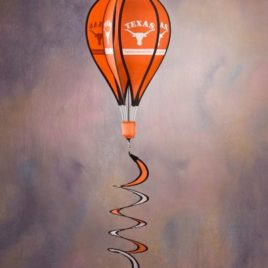 Texas Longhorns | Hot Air Balloon Spinner