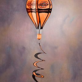 Oklahoma State Cowboys | Hot Air Balloon Spinner